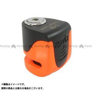 ライズコーポレーション 汎用 KOVIX(コビックス) USB充電機能搭載 アラーム付き ディスクロック KS-6(蛍光オレンジ)|motoride