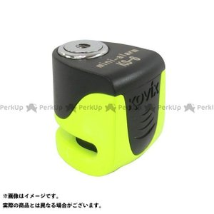 汎用  蛍光グリーン ステンレス(ロックボディ) ディスクロック本体×1 専用キー×3 六角レンチ×...