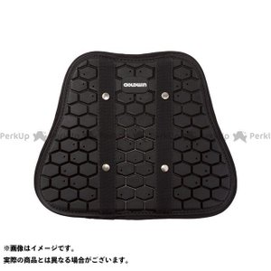 メーカー在庫あり ゴールドウイン GOLDWIN GSM28712 CE胸部プロテクター(ブラック)|motoride