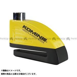 【無料雑誌付き】コミネ LK-122 リマインダーアラームディスクロック(ブラック/イエロー) KOMINE|motoride