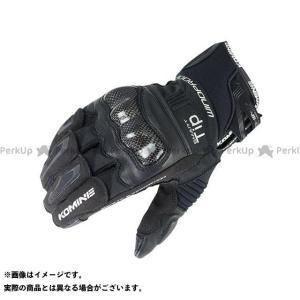 コミネ GK-821 カーボンプロテクトウインドプルーフグローブ(ブラック) L メーカー在庫あり KOMINE|motoride