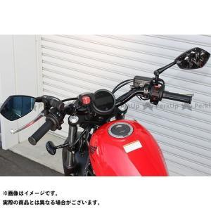 メーカー在庫あり キジマ レブル250 レブル500 ハンドルバー(ブラック) motoride