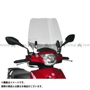 旭風防 アドレス125 ウインドシールド(クリアー)|motoride