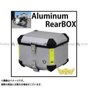 マッドマックス 汎用 アルミリアボックス 40L ツーリングボックス シルバー|motoride