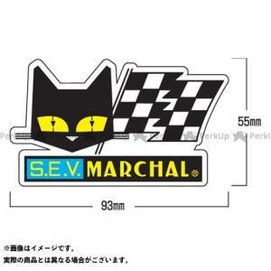 【無料雑誌付き】マーシャル ステッカーフラッグ(L) MARCHAL|motoride