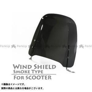 ライズコーポレーション 汎用 汎用 原付 スクーター用 ウインドスクリーン シールドスクリーン スモーク RISE CORPORATION|motoride