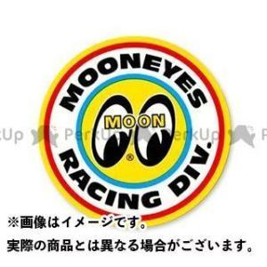 【無料雑誌付き】ムーンアイズ DM-060 RACING DIVISION STICKER(イエロー) MOONEYES|motoride