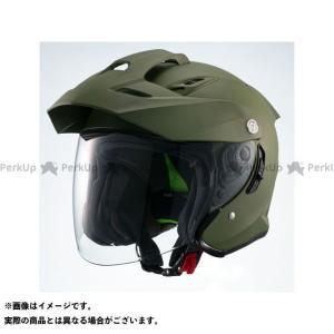 【無料雑誌付き】【特価品】マルシン インナーバイザー付きジェットヘルメット MSJ1 TE-1(マットカーキ) サイズ:XL Marushin|motoride