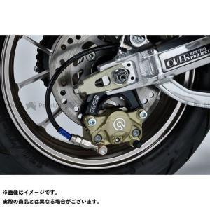 オーバーレーシング モンキー125 Rキャリパーサポート ブレンボ2P(カニ) ロワーマウント(下側) ブラック   OVER RACING motoride