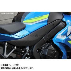 SSK GSX-R1000 タンクサイドカバー  左右セットドライカーボン 綾織り艶あり|motoride