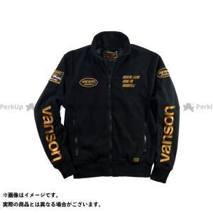 VANSON バンソン 2019-2020秋冬モデル VS19401W FLEECE JACKET(ブラック/イエロー) L2W|motoride