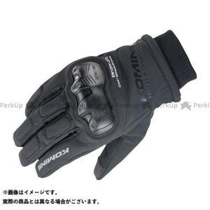 コミネ 2019-2020秋冬モデル GK-833 WPプロテクトウィンターグローブ(ブラック) M  KOMINE|motoride