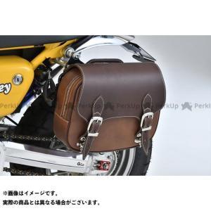 Gクラフト Gクラフト×DEGNER サドルバッグ(ブラウン)   ジークラフト motoride