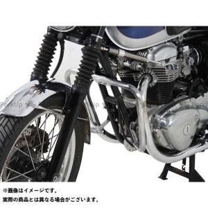 【無料雑誌付き】ヘプコ&ベッカー W800 エンジンガード(クローム) HEPCO&BECKER|motoride