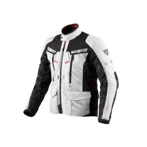 REV'IT FJT150 サンド 2 テキスタイルジャケット カラー:シルバー×ブラック サイズ:L|motoride