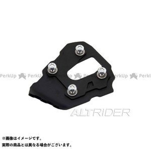 perfk CNC Sidestand Plate Kickstand Extension Pad For Ducati Diavel 1200 11-16