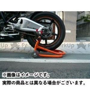 【無料雑誌付き】Jトリップ 【MADE in JAPAN】ショートローラースタンド 受けタイプ:本体のみ カラー:オレンジ j-trip|motoride
