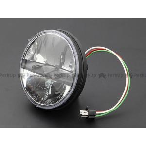 ブライテック 汎用 Truck LED ラウンドタイプ ヘッドランプ motoride