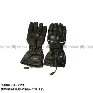 Warm&Safe WS-GLUT 男女兼用カーボンプロテクター・グラブ(ブラック) M  ウォームアンドセーフ motoride