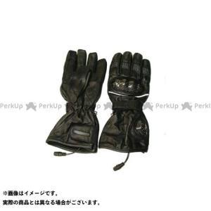 Warm&Safe WS-GLUT 男女兼用カーボンプロテクター・グラブ(ブラック) L  ウォームアンドセーフ motoride