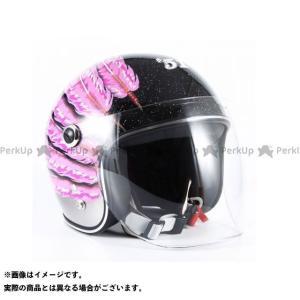 【無料雑誌付き】72ジャムジェット IWAKI Fifty one Feather Design キッズ カラー:ピンク 72Jamjet|motoride