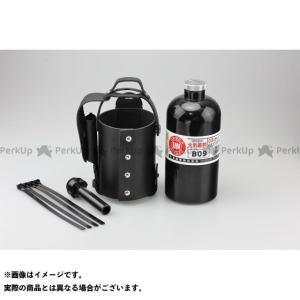 【無料雑誌付き】キジマ ガソリン携帯ボトル&レザーホルダーセット 900ccボトル(ブラック) メーカー在庫あり KIJIMA|motoride