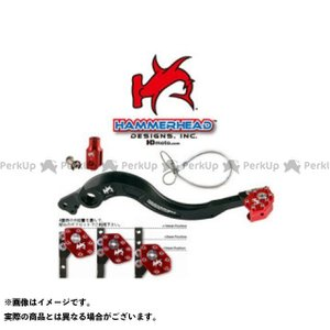 ハンマーヘッド R1200GS リアブレーキペダル ローテーティングティップ 7801350044 レッド  HammerHead|motoride