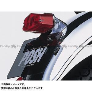 ポッシュフェイス SR400 SR500 ルーカスタイプテールランプ単体(補修用)|motoride