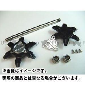 メーカー在庫あり ライズコーポレーション PCX125 PCX125(JF28)用 アルミ アクスルシャフト/アクスルスライダー ブラック|motoride