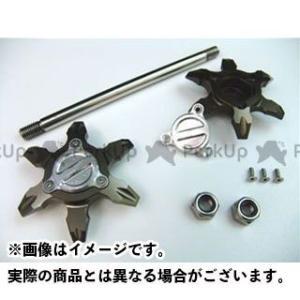 メーカー在庫あり ライズコーポレーション PCX125 PCX125(JF28)用 アルミ アクスルシャフト/アクスルスライダー ブロンズ|motoride