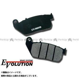 メーカー在庫あり ライズコーポレーション RISE CORPORATION エボリューション セミメタルブレーキパッド EV-9009D|motoride