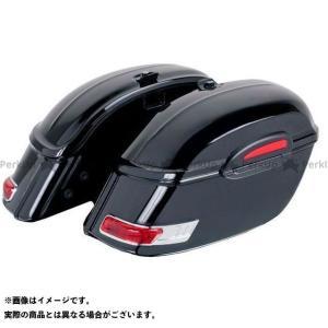 【無料雑誌付き】カスタムアクセス Rigid Saddlebags Touring Model Black | AMZ002N CustomAcces|motoride