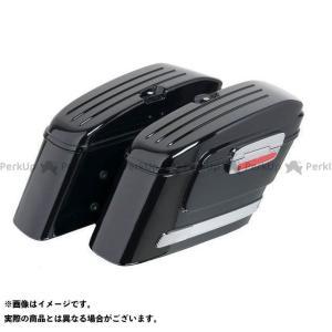 【無料雑誌付き】カスタムアクセス Rigid Right Saddlebags American Model Black | AR0010N Cus…|motoride