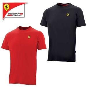 (フェラーリ/FERRARI)フェラーリ クラシック スモール ロゴ Tシャツ 半袖 メンズ F1 ...