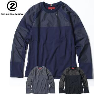(シンイチロウ アラカワ/SHINICHIRO ARAKAWA)Alpi メンズ スウェットシャツ ...