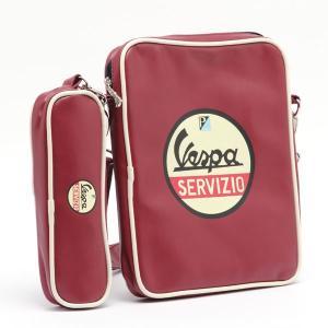 ベスパ iPadバッグ(ポーチ付)Vespa iPad Bag with Pouth(バッグ 鞄 かばん カバン ショルダーバック 斜め掛け ショルダーバッグ 斜め掛けバッグ motormagazine