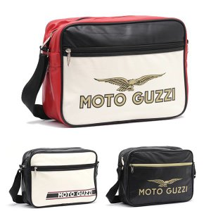 モトグッツィ ショルダーバッグ MotoGuzzi Shoulder Bag(メンズ バック ショルダー かばん 鞄 ショルダーバック 男性 カバン) motormagazine