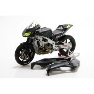 ミニチャンプス(MINICHAMPS)ホンダ RC211V V.ロッシ プレシーズン テストバイク2002 1/12スケールミニチュアバイク motormagazine