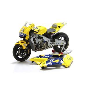 ミニチャンプス(MINICHAMPS)ホンダ RC211V CAMEL PRAMAC HONDA PONS No.3 ビアッジ 1/12スケールミニチュアバイク motormagazine