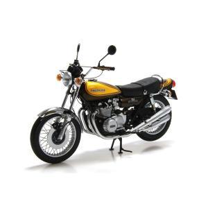 ミニチャンプス(MINICHAMPS)カワサキ 900Z1スーパー4 1973(キャンディグリーン/イエロー)1/12スケールミニチュアバイク motormagazine