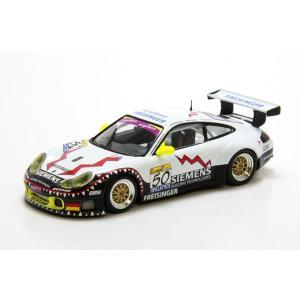 ミニチャンプス(MINICHAMPS)ポルシェ 911 GT3-RS 2003スパ24時間優勝 ORTELLI/LIEB/DUMAS 1/43スケールミニカー motormagazine