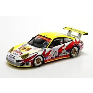 ミニチャンプス(MINICHAMPS)ポルシェ 911 GT3-RS W.L.Racing(No.90/ルマンクラスウイナー)Maassen/Bergmeister/Long 1/43スケールミニカー motormagazine