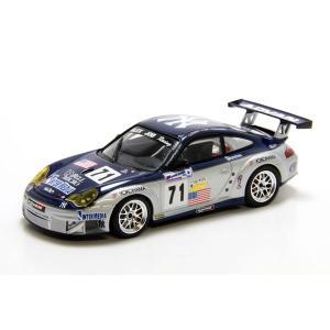 ミニチャンプス(MINICHAMPS)ポルシェ 911 GT3 RSR ALEX JOB RACING L.HINDERY/M.ROCKENFELLER GT2優勝 1/43スケールミニカー motormagazine