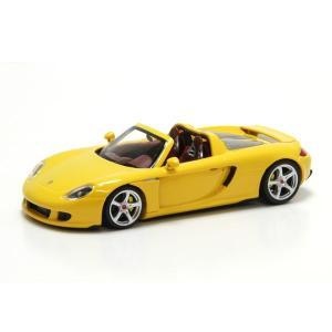 ミニチャンプス(MINICHAMPS)ポルシェ カレラ GT 2003(イエロー)1/43スケールミニカー motormagazine