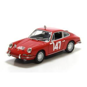 ミニチャンプス(MINICHAMPS)ポルシェ 911 ラリー モンテカルロ 1965 LINGE/FALK 1/43スケールミニカー motormagazine