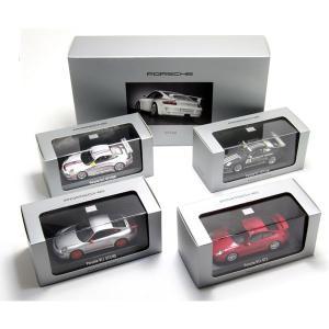 ミニチャンプス(MINICHAMPS)ポルシェ デザイン ドライバーズ セレクション 4台セット 1/43スケールミニカー|motormagazine