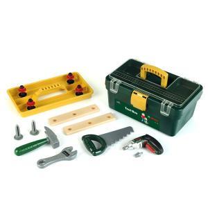 (あすつく対応/送料無料)BOSCH(ボッシュ)ツールボックス(知育玩具 おもちゃ 男の子くるま 工具セット 知育 工具箱 ツール セット ボックス)|motormagazine