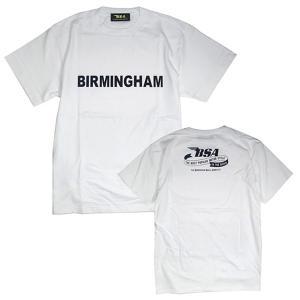 プリントロゴT BSA Tシャツ/バーミンガム/ホワイト (T-Shirts/BSA BIRMINGHAM/White)(メンズ tシャツ ロゴtシャツ)(あすつく対応/まとめ買いで送料無料) motormagazine