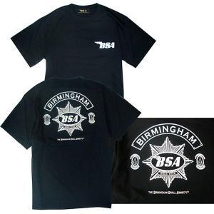 プリントロゴT BSA Tシャツ/ゴールドスター/ブラック(T-Shirts/BSA GoldStar/Black)(メンズ tシャツ ロゴtシャツ)(あすつく対応/まとめ買いで送料無料) motormagazine