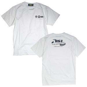 プリントロゴT BSA ポケットTシャツ/ホワイト (PocketT-Shirts/BSA/White)(メンズ tシャツ ロゴtシャツ)(あすつく対応/まとめ買いで送料無料) motormagazine